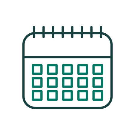 calendar reminde risolated icon vector illustration design