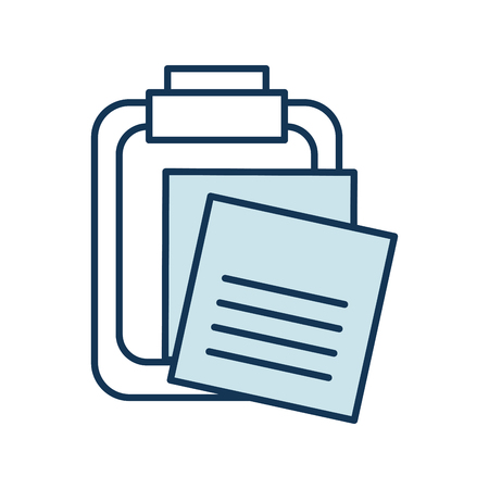 Clipboard with reminder notes icon 版權商用圖片 - 97251291