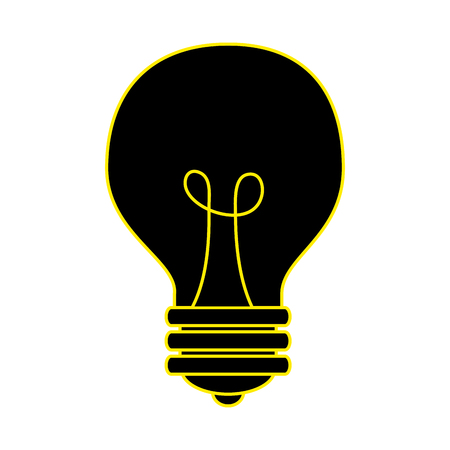 bulb light idea icon vector illustration design Banco de Imagens - 97255689