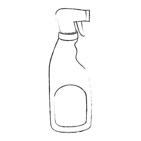 household cleaning product spray bottle vector illustration design Illusztráció