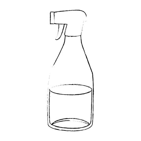 household cleaning product spray bottle vector illustration design Иллюстрация