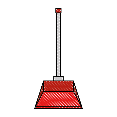 garbage picker isolated icon vector illustration design Foto de archivo - 97265729