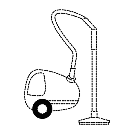 Vacuum cleaner isolated icon vector illustration design Illustration