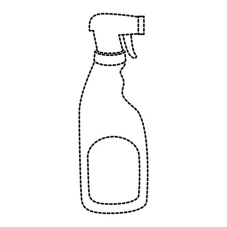 household cleaning product spray bottle vector illustration design Illustration