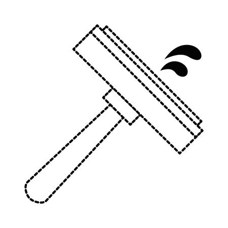 window cleaner isolated icon vector illustration design Illustration