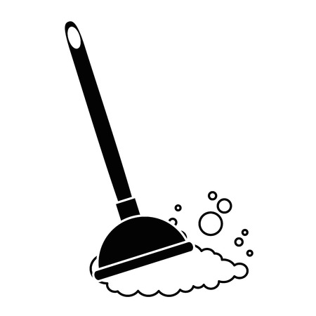 sanitary suction suck icon vector illustration design