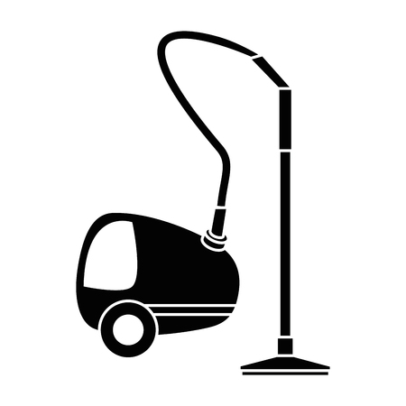 Vacuum cleaner isolated icon vector illustration design Ilustrace