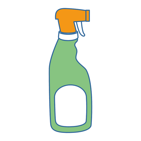 household cleaning product spray bottle vector illustration design  イラスト・ベクター素材