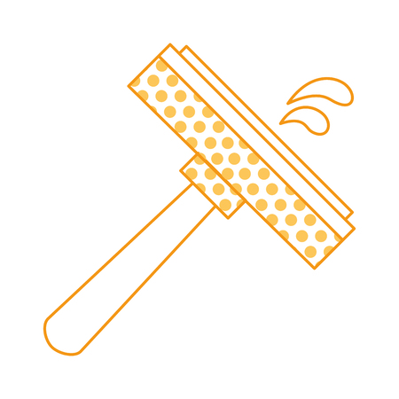 window cleaner isolated icon vector illustration design 일러스트
