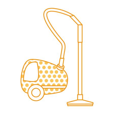 Vacuum cleaner isolated icon vector illustration design Ilustração