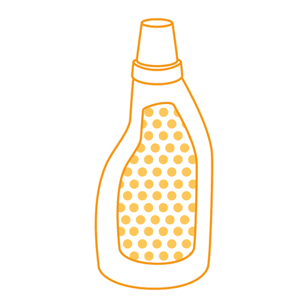 household cleaning product bottle vector illustration design