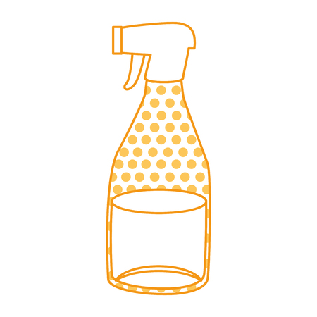 household cleaning product spray bottle vector illustration design 向量圖像