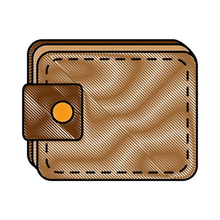 Wallet isolated icon illustration design