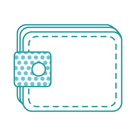 Illustration of a wallet on a white background Foto de archivo - 97344696