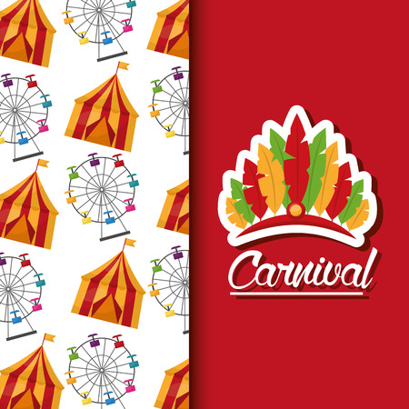 carnival fair celebration festive image vector illustration Zdjęcie Seryjne - 97323978