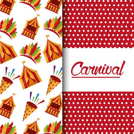 カーニバルフェアお祝いのお祝い画像ベクトルイラスト  イラスト・ベクター素材