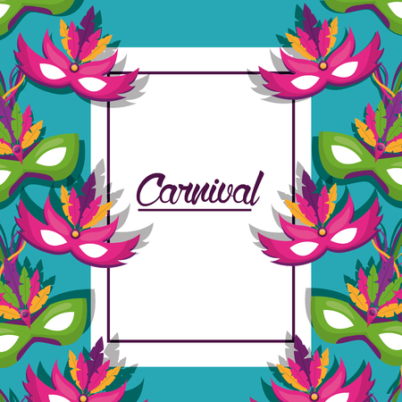 carnival fair celebration festive image vector illustration Ilustrace