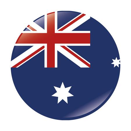 English flag emblem stamp vector illustration design Illustration