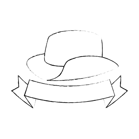 cowboy hat isolated icon vector illustration design Иллюстрация
