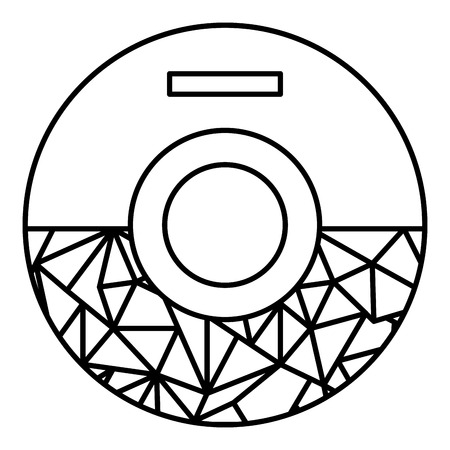 compact disk isolated icon vector illustration design Illustration