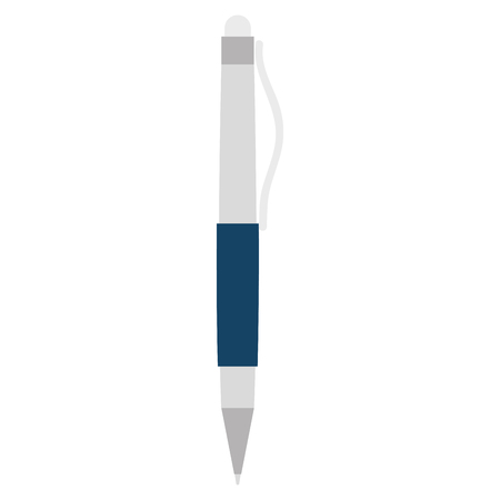 pen writer isolated icon vector illustration design Stock Illustratie