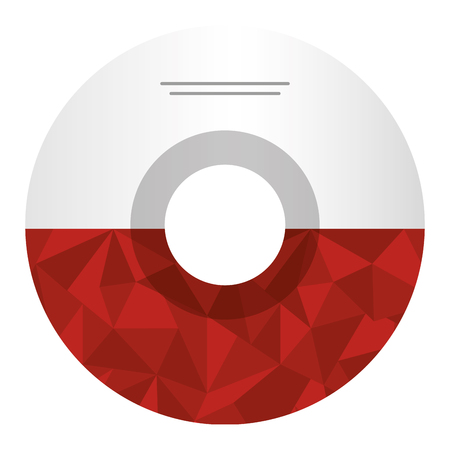 compact disk isolated icon vector illustration design Çizim