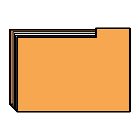 File folder documents icon vector illustration design.