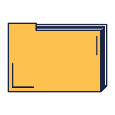file folder documents icon vector illustration design Çizim