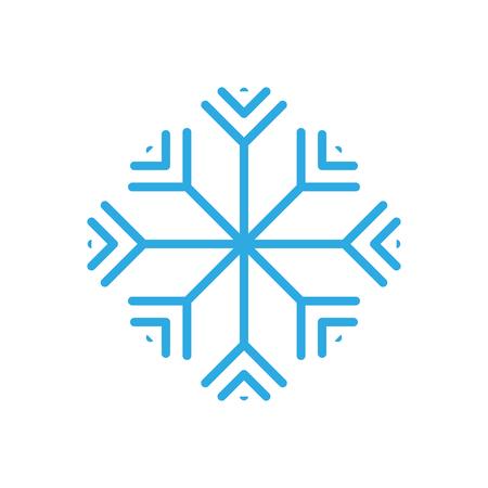 winter season snow frost image vector illustration