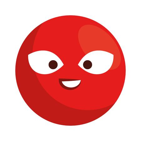 Emoticon face character vector illustration design Ilustrace