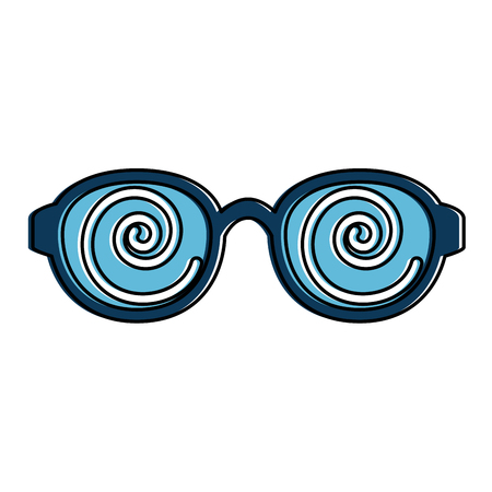 funny glasses accessory icon vector illustration design Çizim