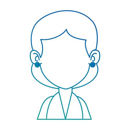 woman adult avatar character vector illustration design Illustration
