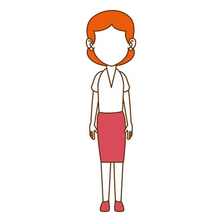 woman adult avatar character vector illustration design 일러스트
