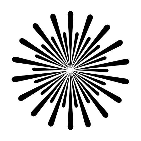 fireworks splash isolated icon vector illustration design Stockfoto - 97500742