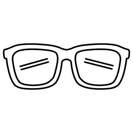 eye glasses isolated icon vector illustration design Foto de archivo - 97573065