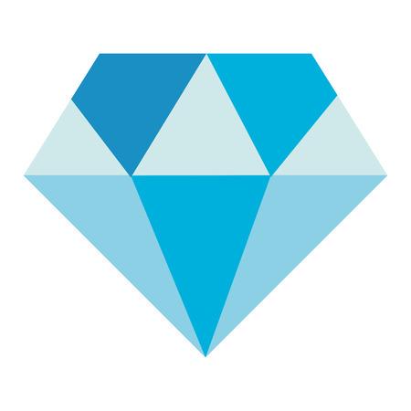 Diamond isolated icon vector illustration design Ilustrace