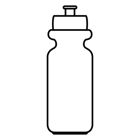 Water bottle isolated icon  illustration design Illusztráció