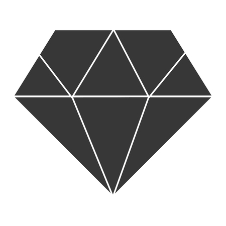 diamond luxury isolated icon vector illustration design Reklamní fotografie - 97804411