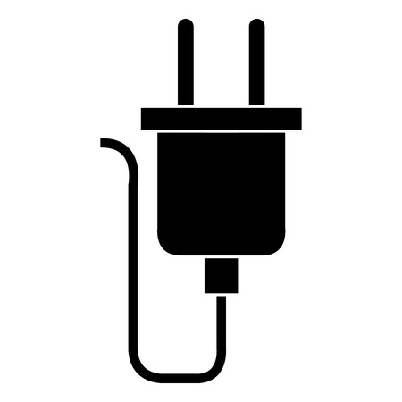 wire cable connector energy vector illustration design Stock Illustratie
