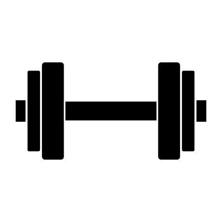 weightlifting device icon vector illustration design Çizim