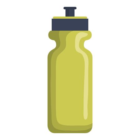 Gym bottle isolated icon vector illustration design Çizim