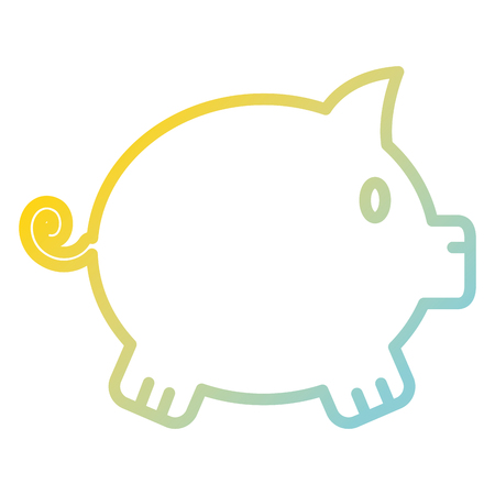 piggy savings isolated icon vector illustration design Standard-Bild - 97805317