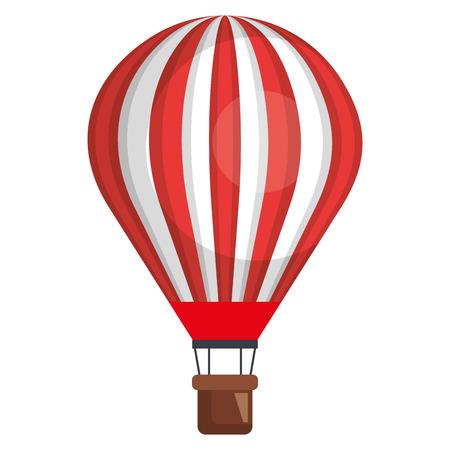 balloon air hot flying vector illustration design Foto de archivo - 97541289