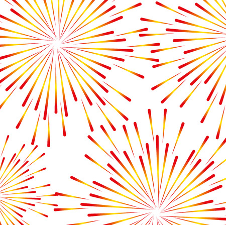 fireworks splash pattern background vector illustration design