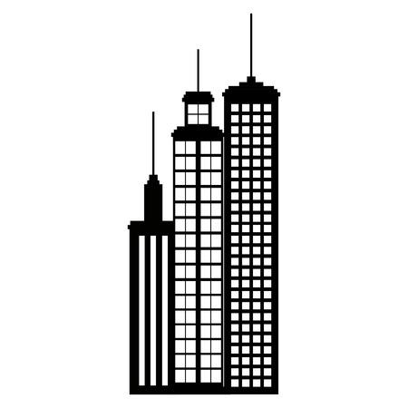 Building facade city icon vector illustration design.