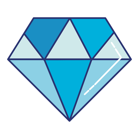 diamond luxury isolated icon vector illustration design Reklamní fotografie - 97537763