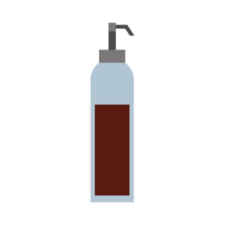 dispenser of sauce ingredient condiment vector illustration Ilustração