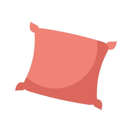 decorative cushion soft elegant image vector illustration