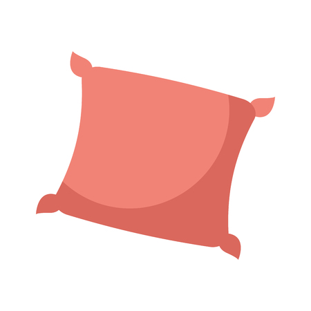 decorative cushion soft elegant image vector illustration