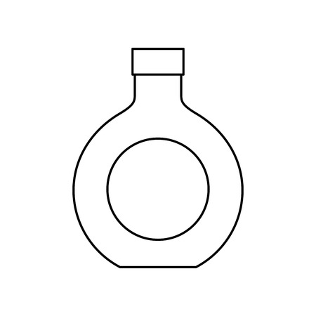 alcohol drink liquor bottle image vector illustration outline design 일러스트